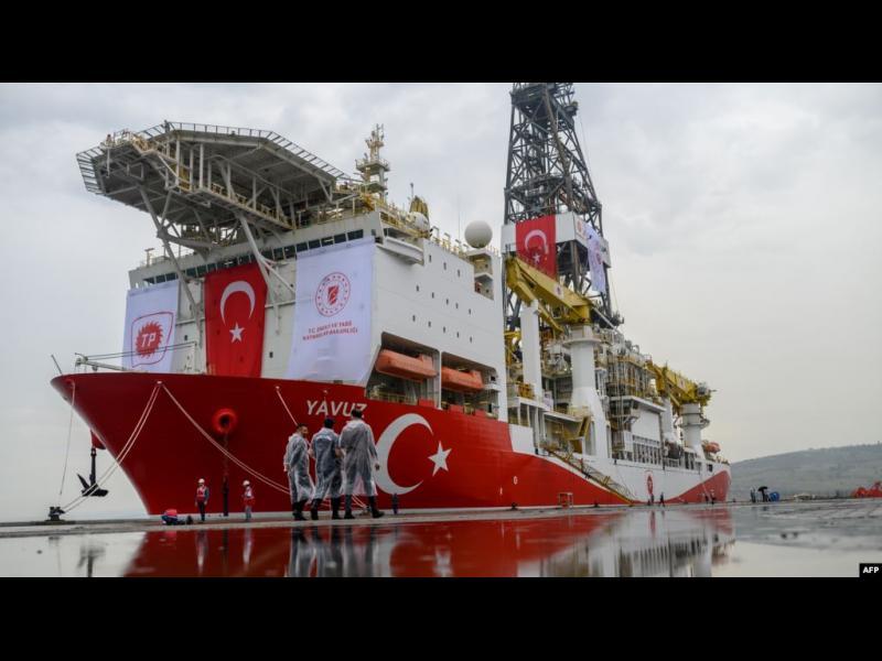 Турция предизвика ЕС с нов сондажен кораб за петрол и газ край Кипър