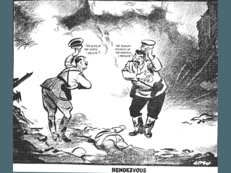 """""""Германско-съветски сговор стои в основата на Втората световна война"""""""