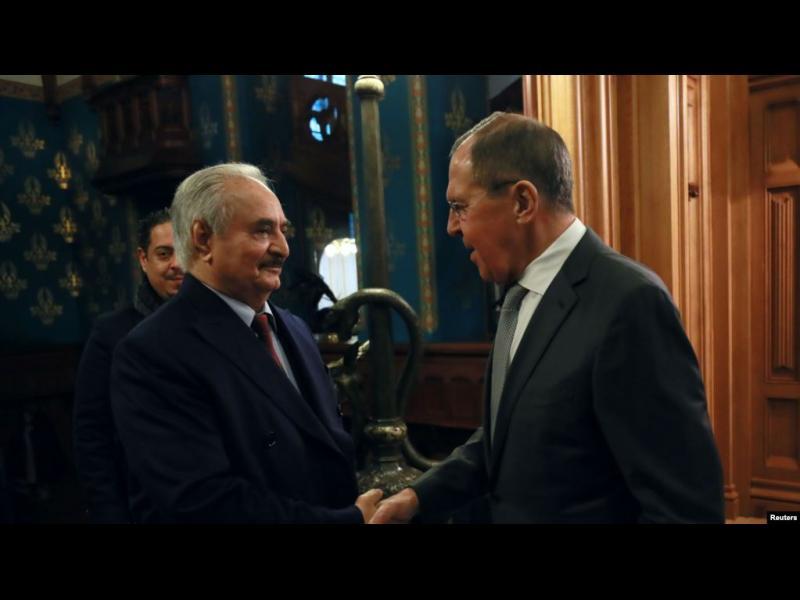Мирните преговори за Либия в Москва се провалиха
