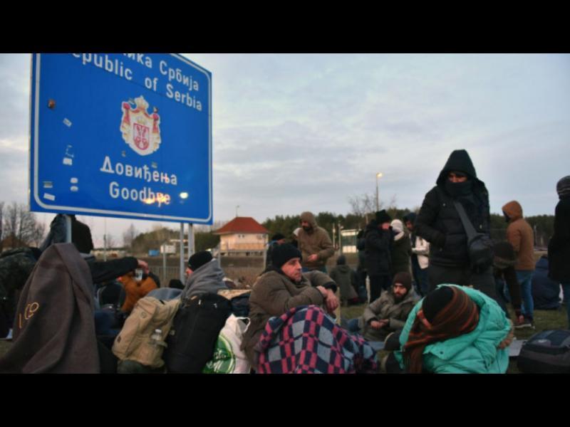 Унгария затвори границата си заради бежански натиск