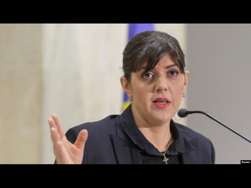 Лаура Кьовеши предупреди за риск от провал на европейската прокуратура