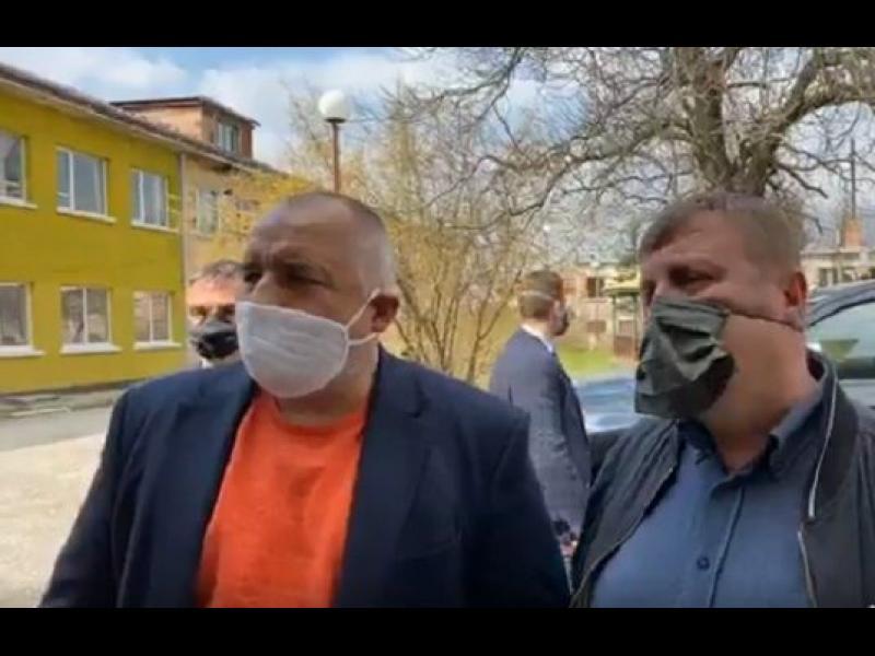 Борисов обяви проверки кой къде отива, прибират хора от парковете