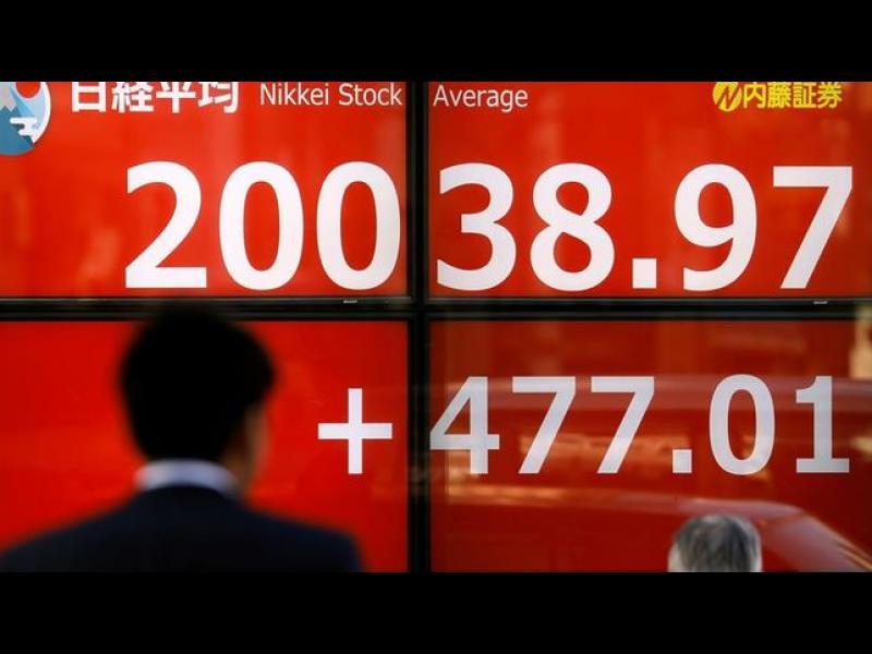 Борсата в Токио закри с леко повишение на фона на черния понеделник за Уолстрийт