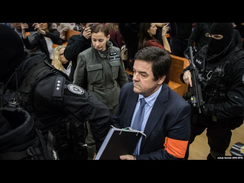 Словакия арестува 13 съдии във връзка с делото за убития журналист Ян Куцияк