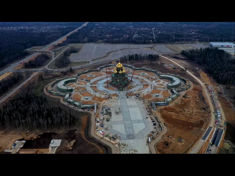 Първият храм на Победата и руската армия е почти готов