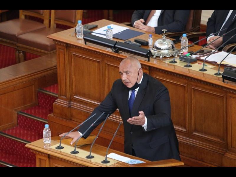Борисов пред парламента: При нас няма ограничения, а най-либералните мерки в Европа