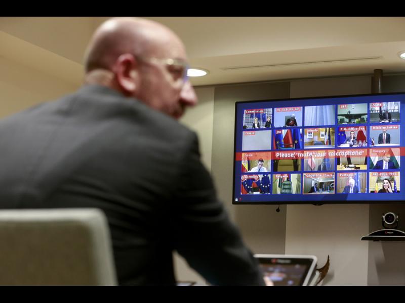Европейският съвет обсъжда днес постепенно облекчаване на карантината