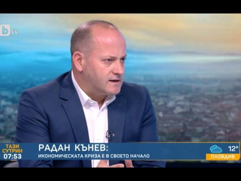 Радан Кънев: В ЕС политика с рогата напред не се прави, може да се окажем спонсор на Италия