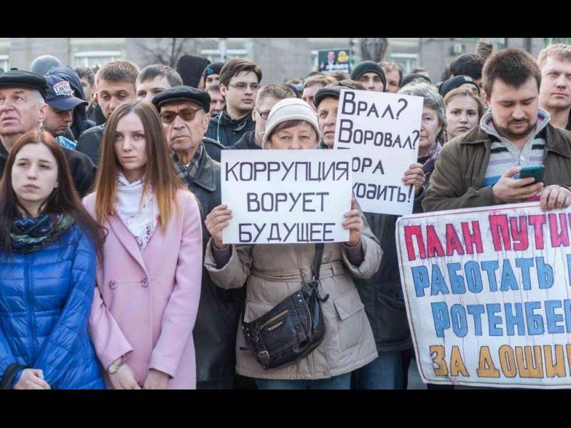 Руснаците псуват, когато социолозите ги питат за властта - картинка 1