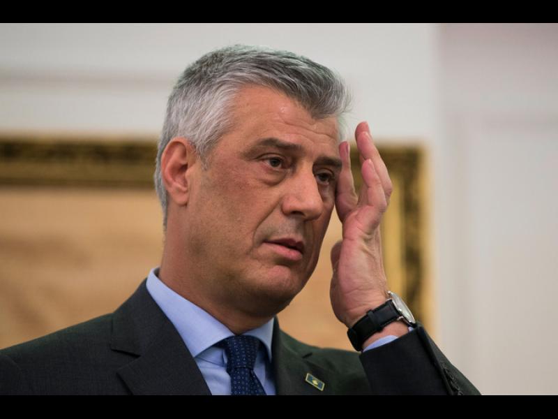 Президентът на Косово е обвинен във военни престъпления