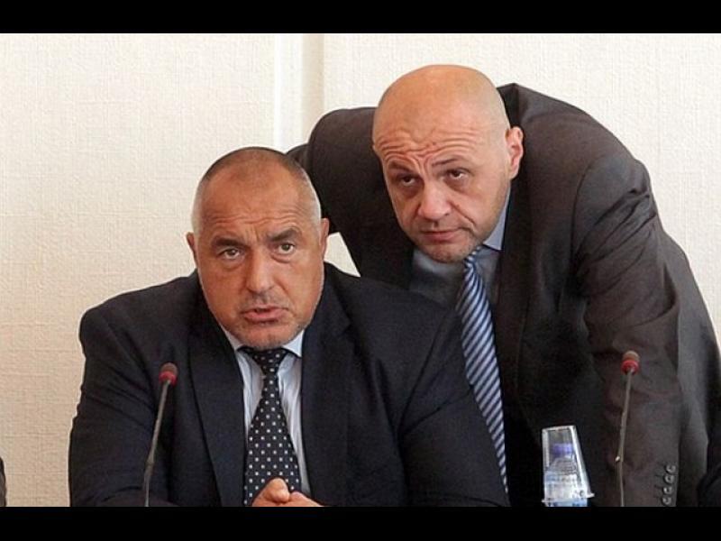 Нов предполагаем запис на Борисов към Дончев: Акъл се набива, Томиславе, на умен човек. На прост човек к...се набива