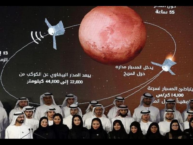 """Първата арабска мисия до Марс: Модулът """"Надежда"""" на ОАЕ излита тази нощ"""