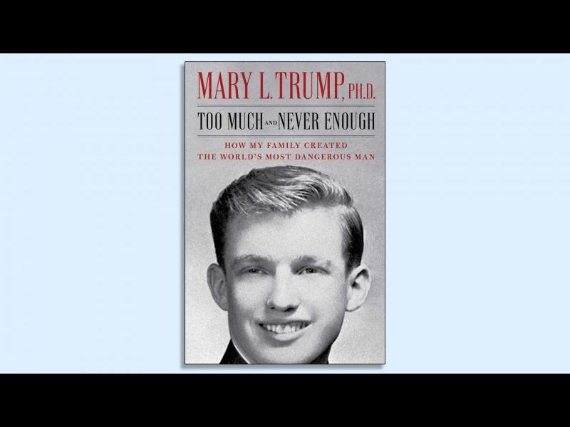 Тръмп не успя да блокира книгата на племенницата си Мери