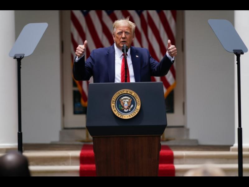 САЩ напускат СЗО на 6 юли 2021 г.