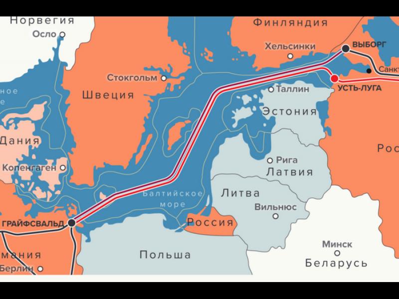 """Помпео обсъжда """"Северен поток-2"""" в Дания"""