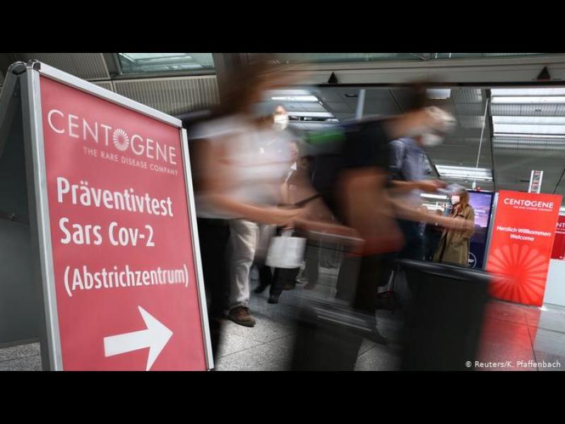Германия въвежда тестове за коронавирус на летищата