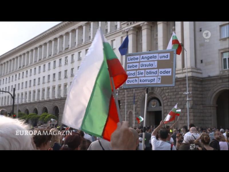 ARD: Българите са изоставени от ЕС срещу едно корумпирано правителство