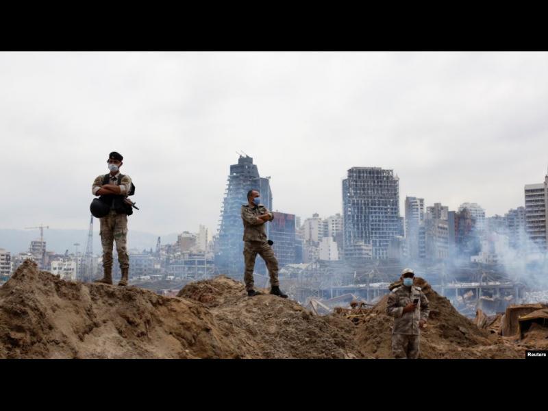 Пътят на експлозива, причинил взрива в Бейрут