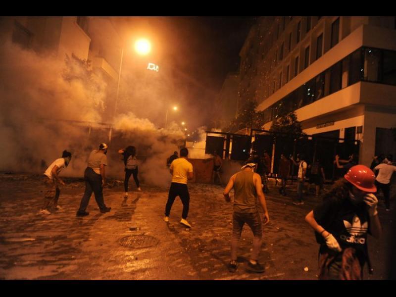 Ливанското правителство подаде оставка