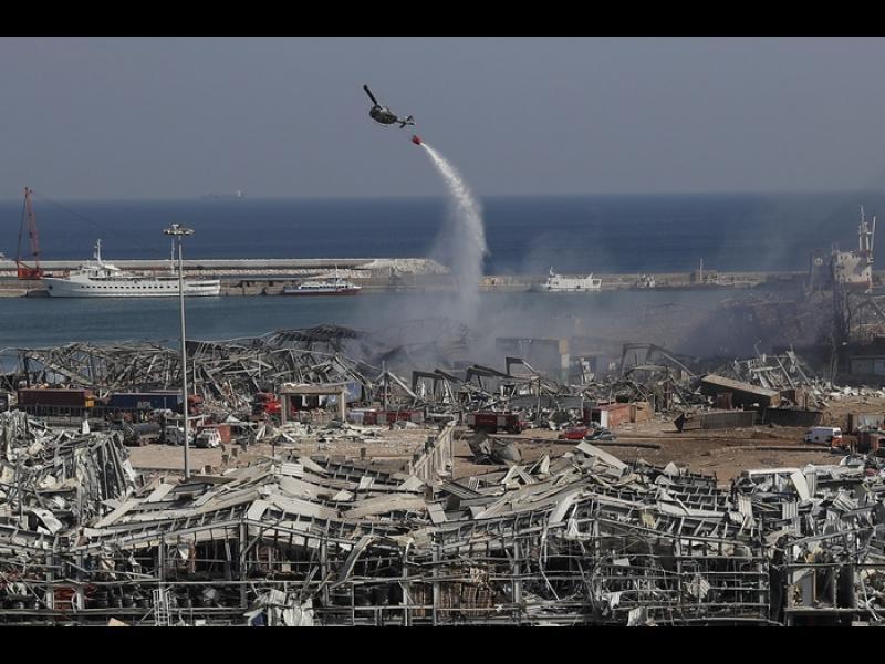 Ситуацията е апокалиптична, Бейрут не познава такова нещо в историята си