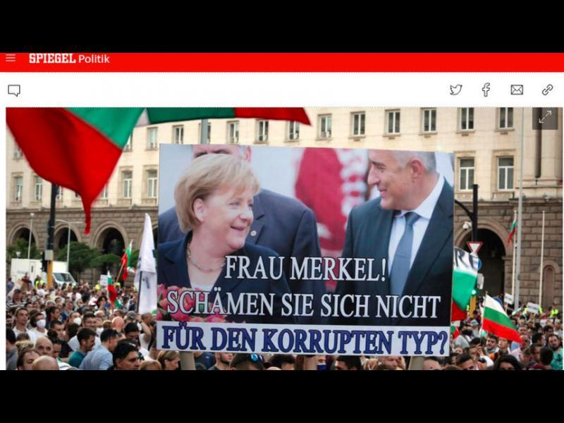 Борисов, Биков и ГЕРБ в челен сблъсък с медиите по света
