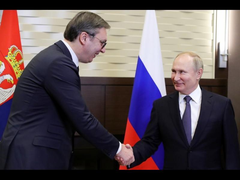 Путин и Лавров се извиняват на Вучич за коментар на руска говорителка