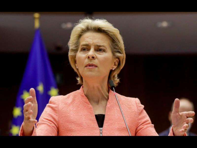 Фон дер Лайен иска Здравен европейски съюз и минимална заплата - картинка 1