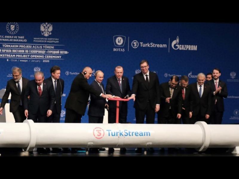 """САЩ разширяват санкциите срещу """"Турски поток"""""""