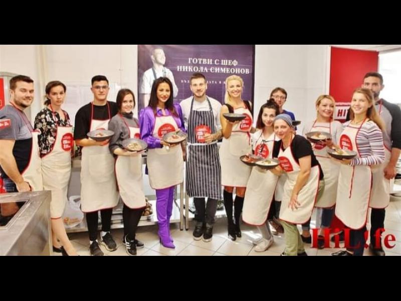 Шеф Никола от Hells Kitchen устрои звездна кулинарна битка - картинка 1