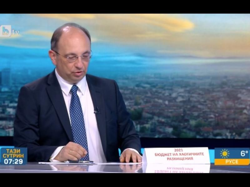 Николай Василев: Разхитителен бюджет на кабинет, който няма намерение пак да управлява
