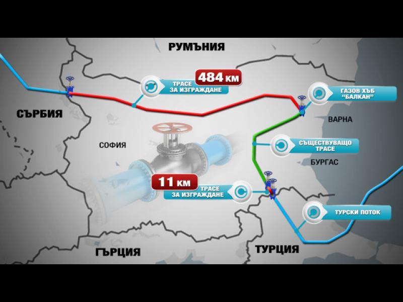 """Срокът на договора с Arkad за строителството на """"Турски поток"""" е променен тайно"""