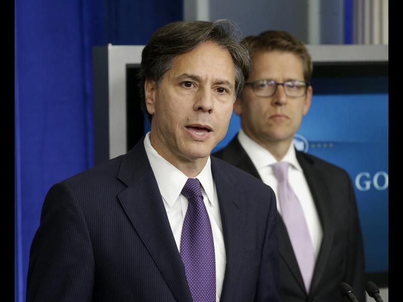 Байдън възнамерява да номинира Антъни Блинкен за държавен секретар