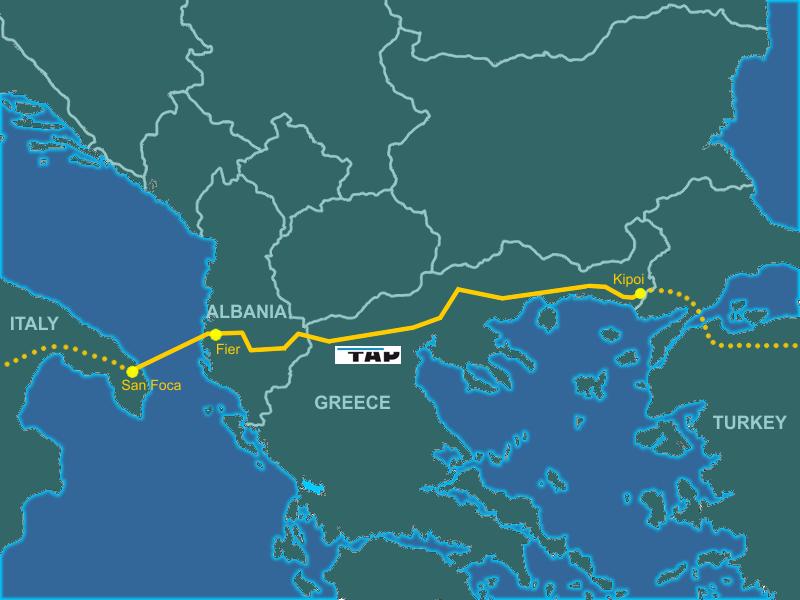 TAP е готов. Азерският газ потегля към Европа