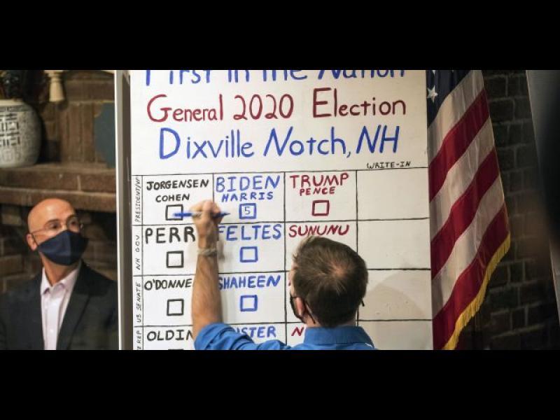 Изборният ден започна в САЩ, първи гласуваха петимата избиратели в Диксвил Ноч