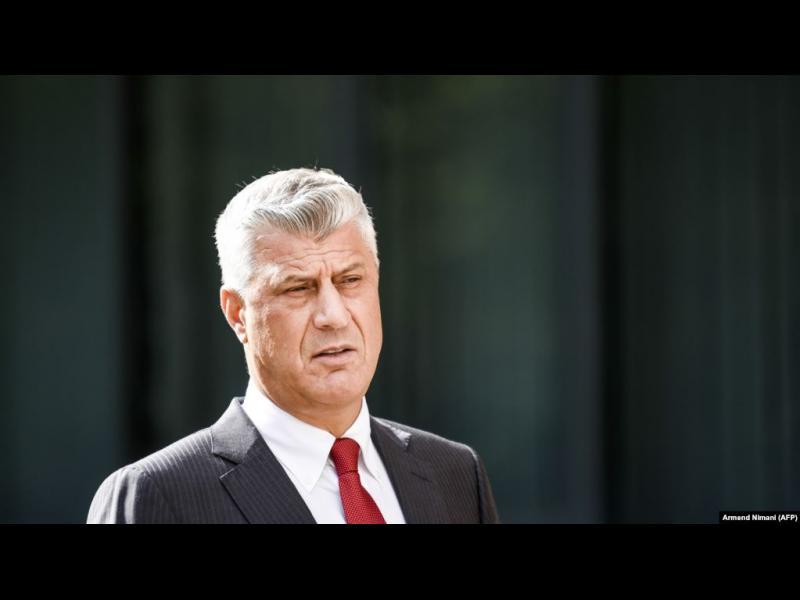 Президентът на Косово Хашим Тачи подава оставка и ще бъде съден за военни престъпления