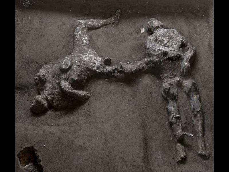 Откриха нови останки на хора от Помпей, загинали при изригването на Везувий (видео)