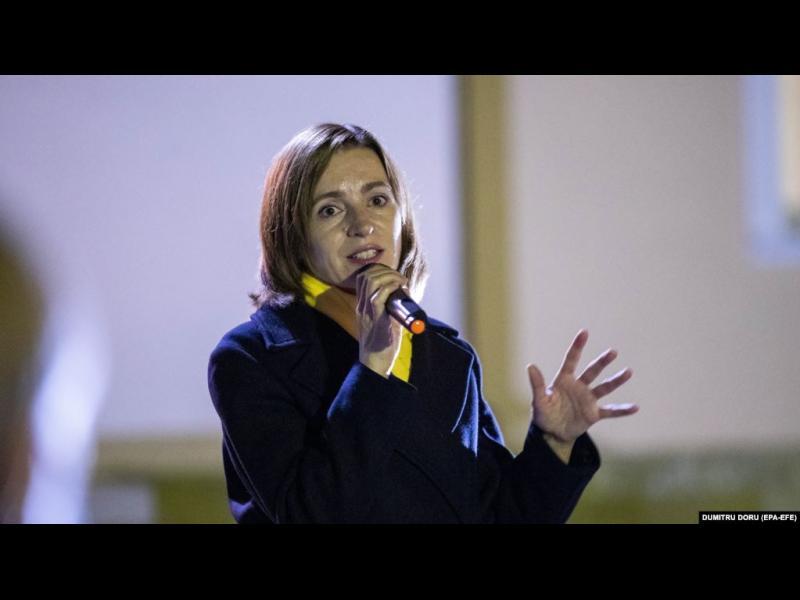 Проевропейската кандидатка води на изборите за президент на Молдова