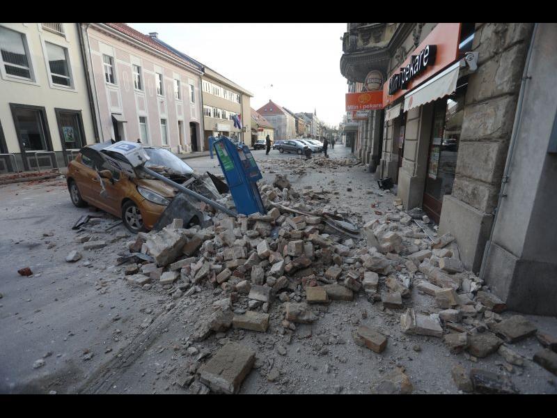 Най-малко 7 жертви на земетресението в Хърватия
