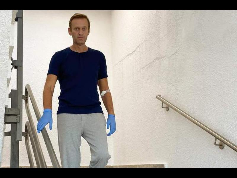 Русия направила втори опит да отрови Навални преди пристигането му в Берлин