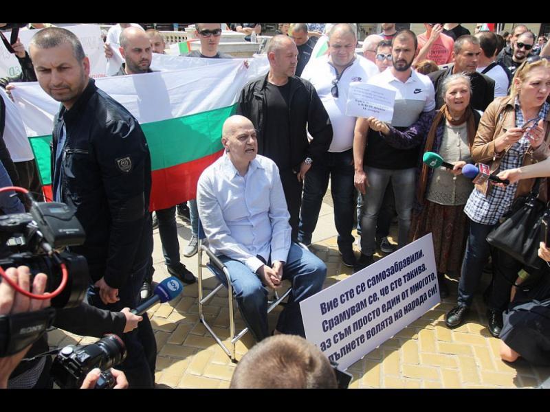 """""""Екзакта"""": Партията на Слави е трета сила, разликата между ГЕРБ и БСП - около 2%"""