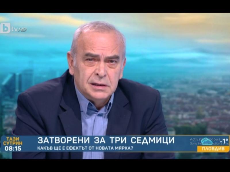 Костадин Паскалев: Борисов иска избори през юни, не през март