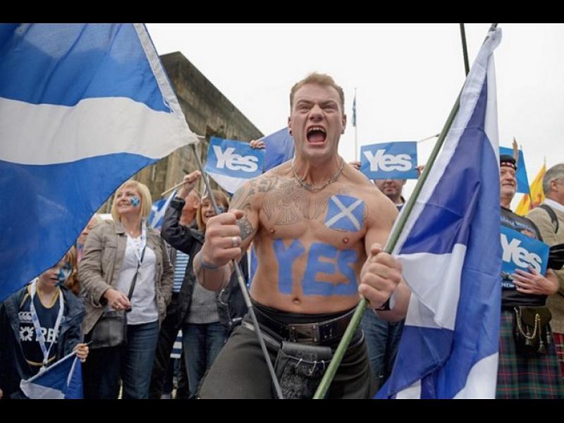 Мнозинството шотландци и ирландци искат референдум за независимост