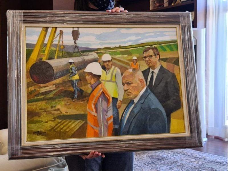 Води ни, партийо! Картината, която Борисов изпрати на Вучич