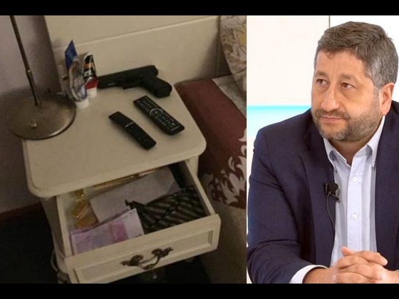 Христо Иванов с писмо до ЕП - припомни за записите, кюлчетата и пачките