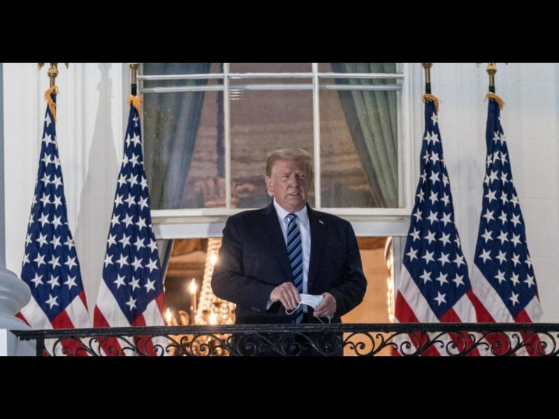 Последен ден на Тръмп в Белия дом