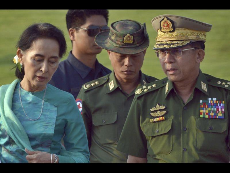 Военен преврат в Мианмар, задържаха водачката на управляващата партия
