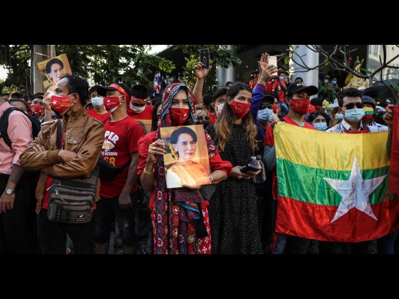 Китай и Русия спират резолюция на ООН срещу преврата в Мианмар