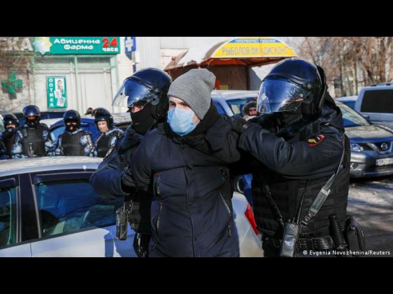 Полицейският произвол в Русия - като във времената на Сталин