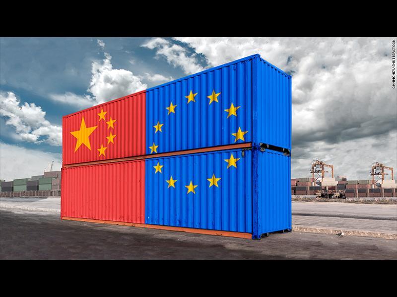 Китай вече е най-големият търговски партньор на ЕС