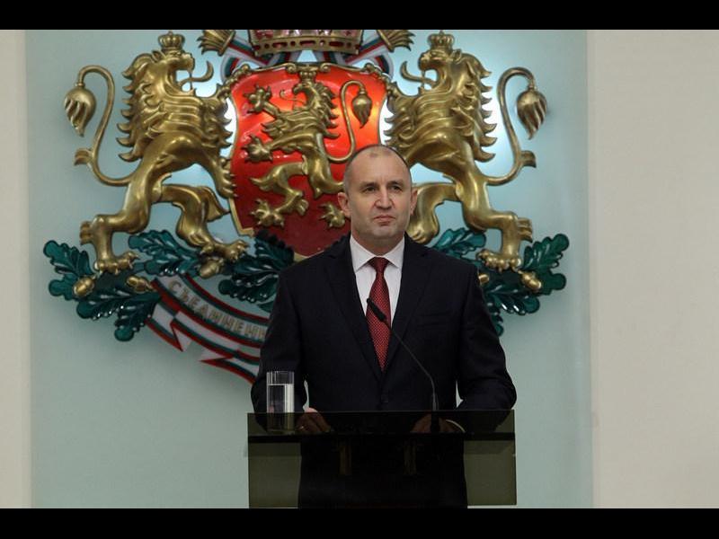 Румен Радев обяви кандидатурата си за втори мандат (ВИДЕО)